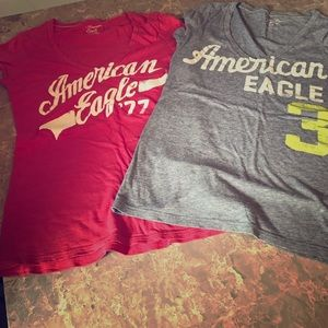 Set of 2 AE graphic tees